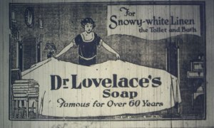 Dr Lovelace's soap